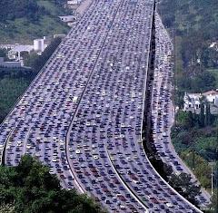 Encore un record de la Chine: Le plus gros blocage de la circulation!