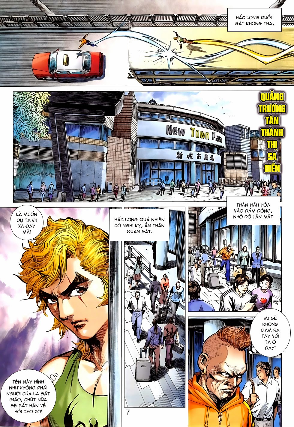 Tân Tác Long Hổ Môn chap 781 Trang 7 - Mangak.info