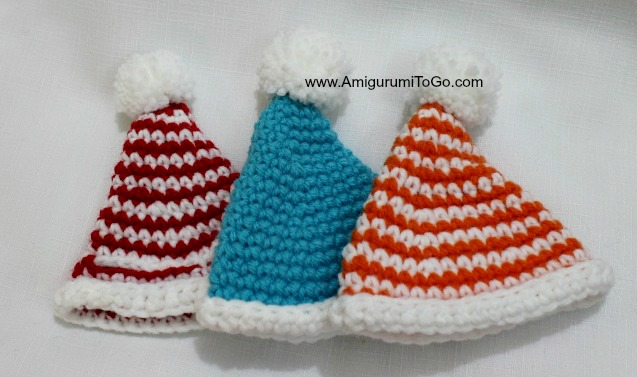 Amigurumi Hat : Hat For Winter Mouse and Bunny ~ Amigurumi To Go