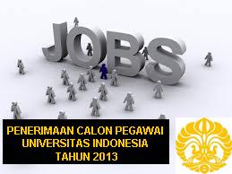 Lowongan Kerja Di Universitas Indonesia 2013 Masa Februari Tingkat D3 Hingga S3