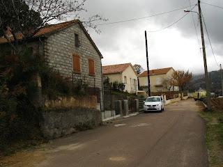 quartier des Cardelli à Aullène en Alta Rocca