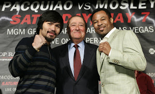 Pacquiao vs Mosley with Bob Arum