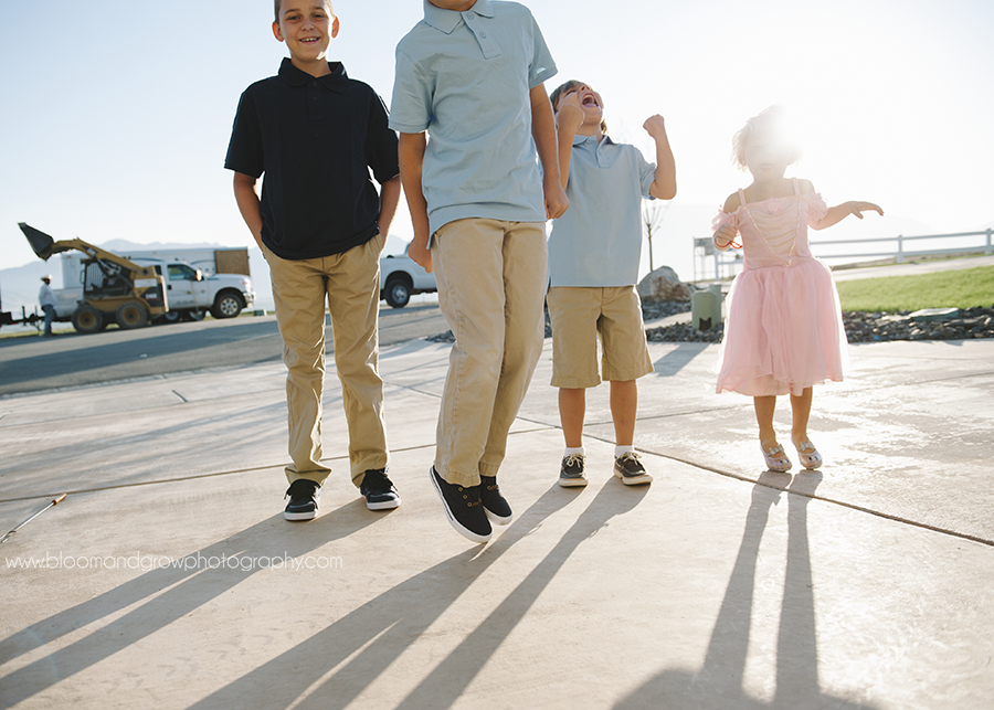 Salt Lake City Utah Family Photographer Bloom and Grow Photography