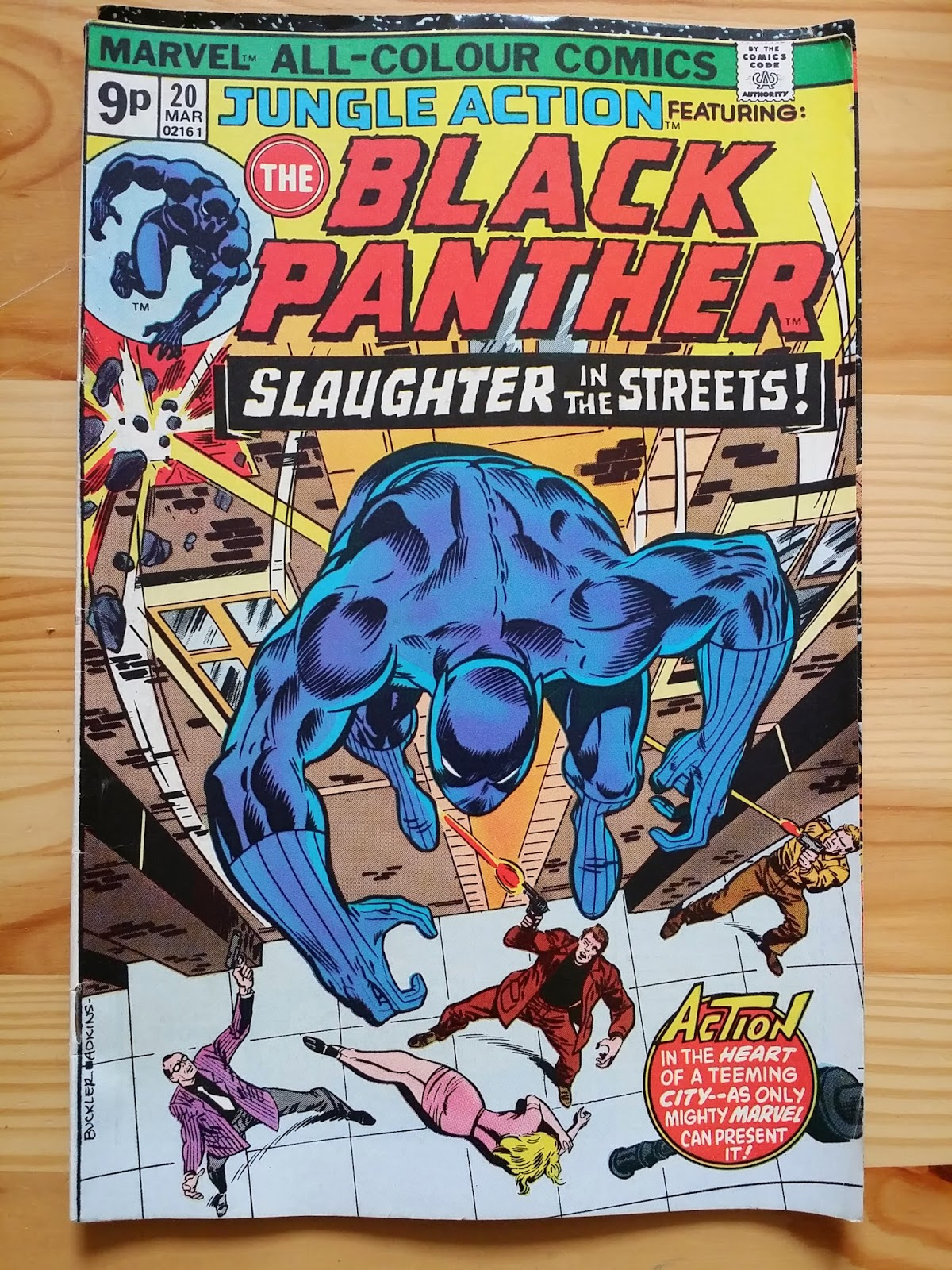 Marvel Jungle Action The Black Panther