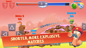 Worms 4 v1.0.419806 MOD APK + DATA Android