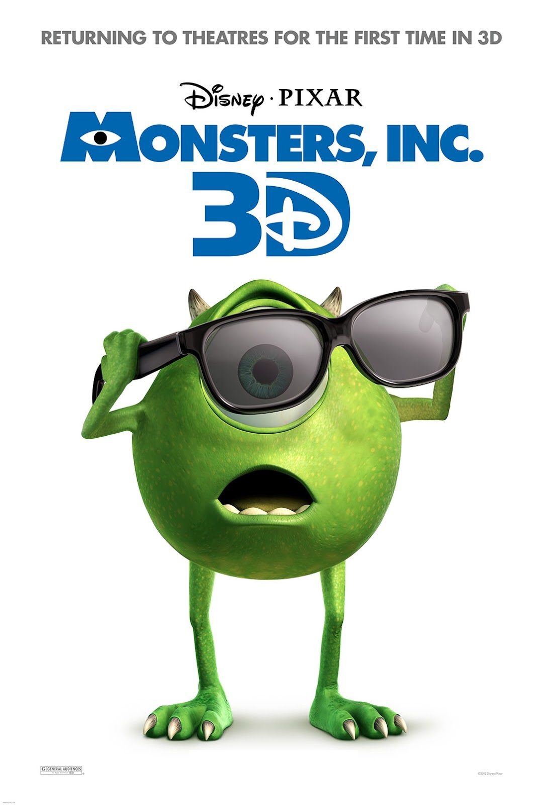 Película Monsters University (2013)