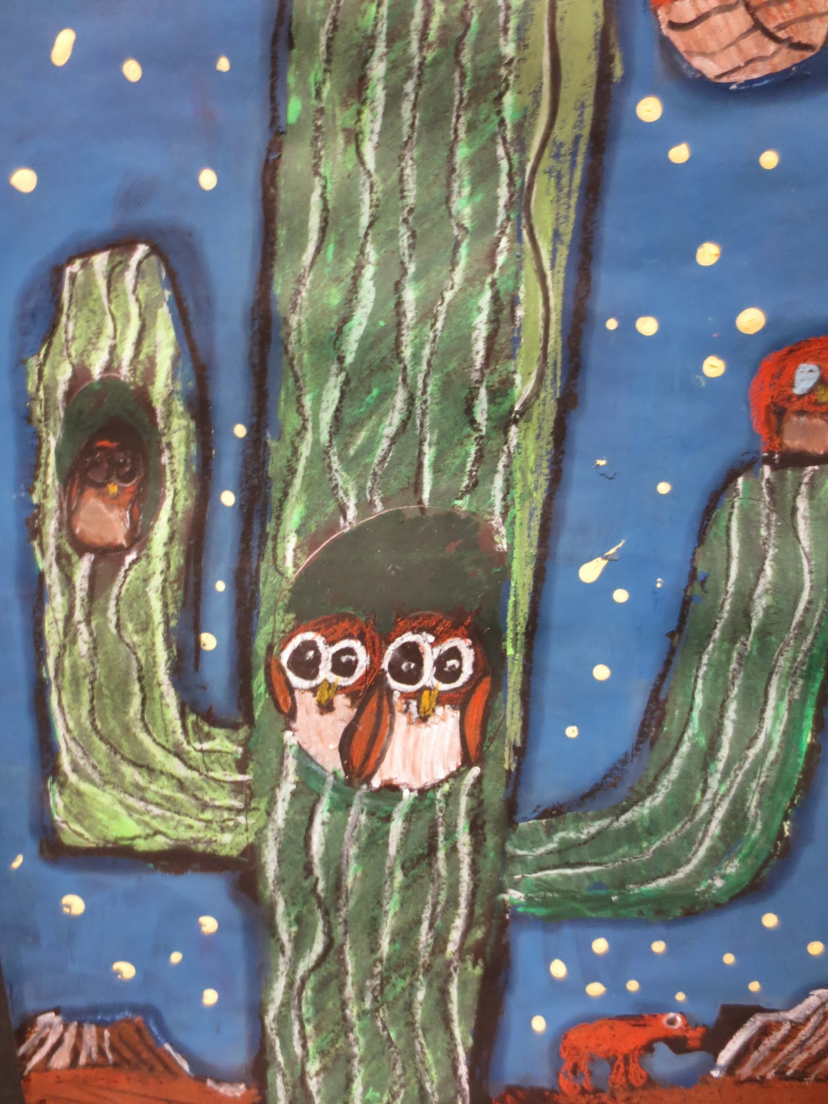 We give a HOOT about our ART!