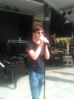 Greyson Chance during sound check Kuching Malaysia KIRC Concert Video