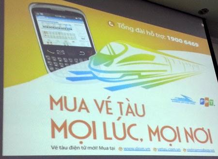 Hệ thống bán vé tàu điện tử sẽ chính thức được vận hành từ ngày 21/11 tới đây