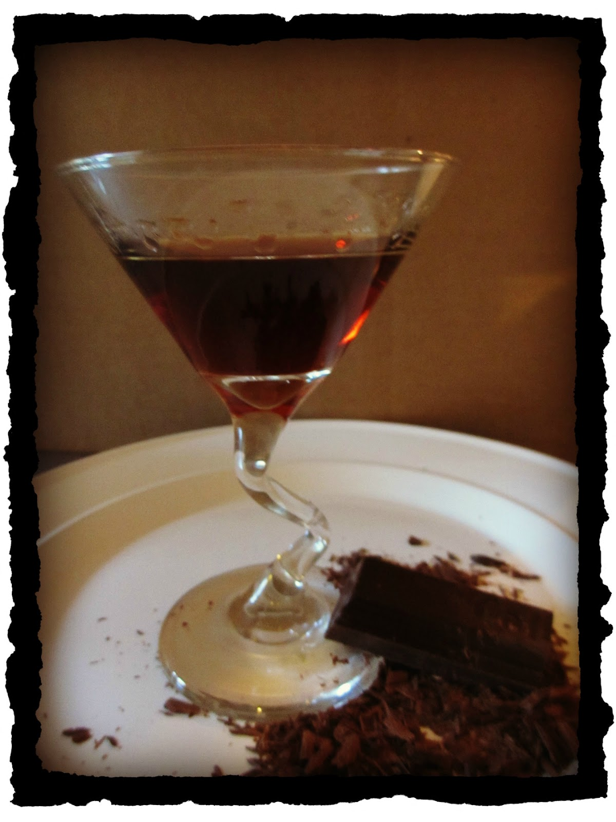Dying for Chocolate: How to Make Your Own Chocolate Liqueur