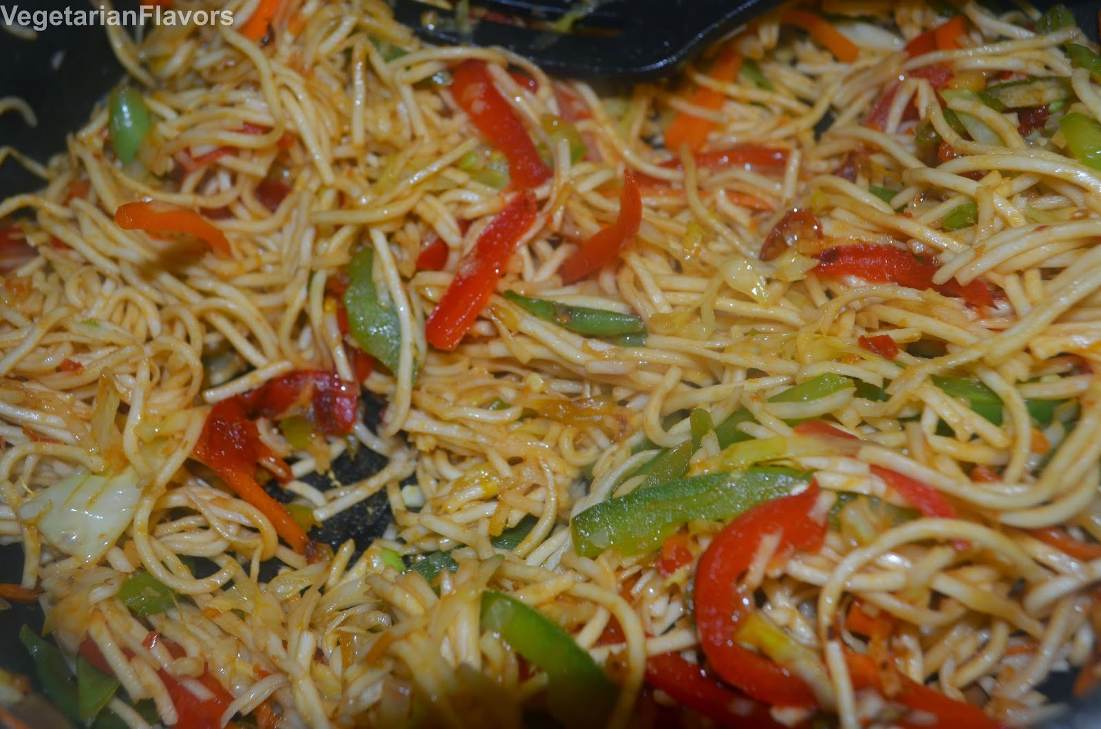 how to make veg schezwan noodles