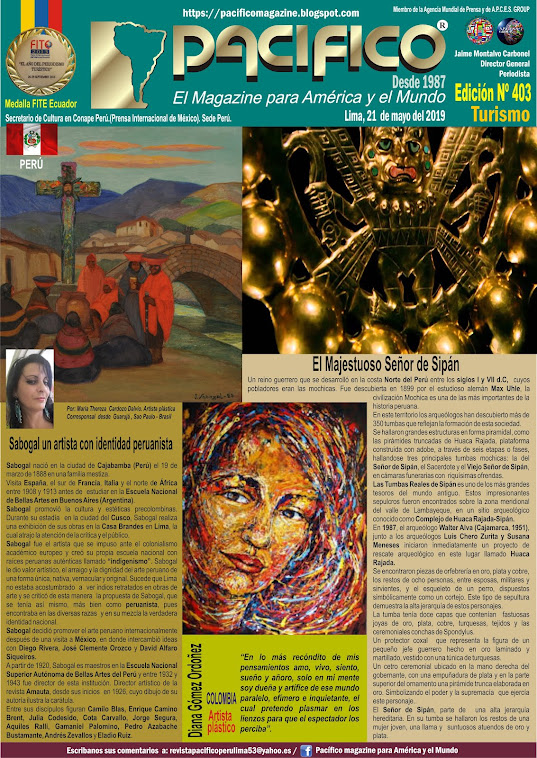 Revista Pacifico N° 403 Turismo