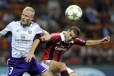 Watch Anderlecht vs AC Milan Live Stream Online 21/11/2012