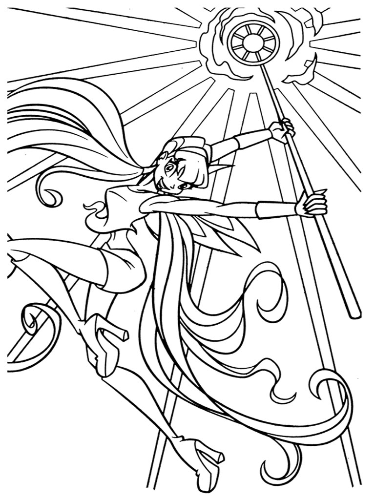 Winx Club Coloring Pages Printable