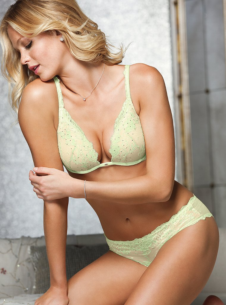 Erin Heatherton for Victoria's Secret Lingerie, December 2012
