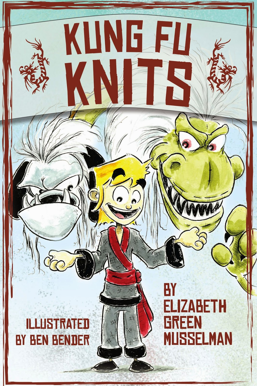 Kung Fu Knits by Elizabeth GM