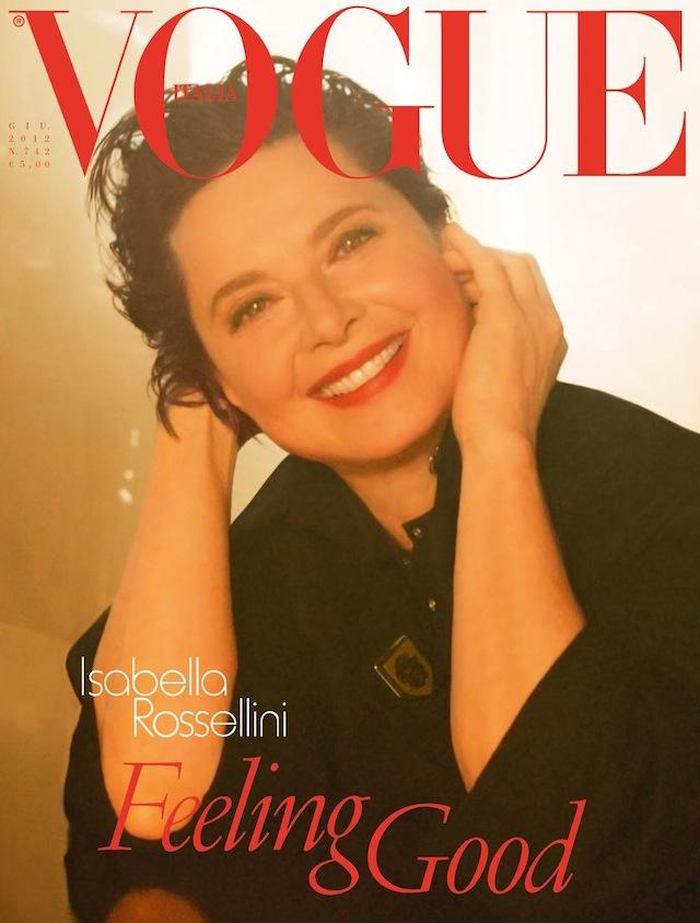 Vogue Italia June 2012: Isabella Rossellini by Steven Meisel