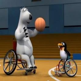 Berni, el oso deportista.