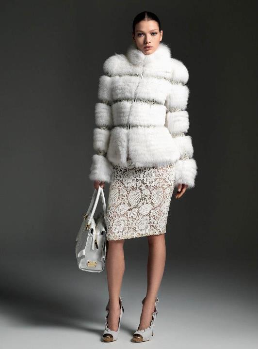 blumarine autumn winter collection 2013