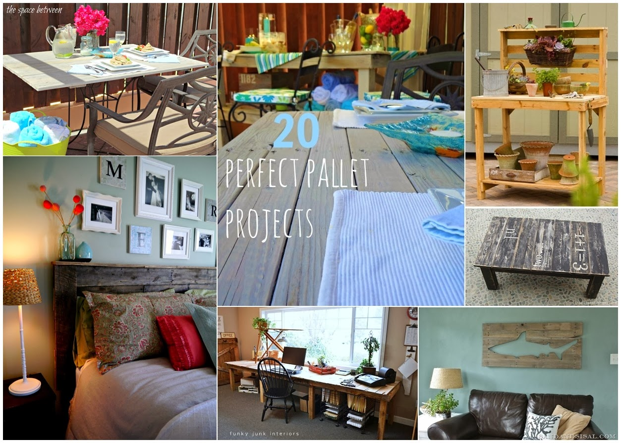 20 perfect pallets projects upcycling ideas diy craft for Diy upcycling projects