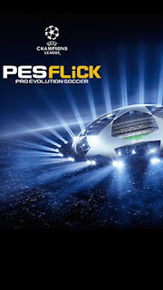 Screenshots of the PES Flick Pro Evolution Soccer for Android tablet, phone.