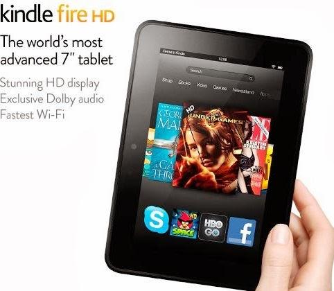 الجهاز اللوحي Amazon Kindle Fire HDX