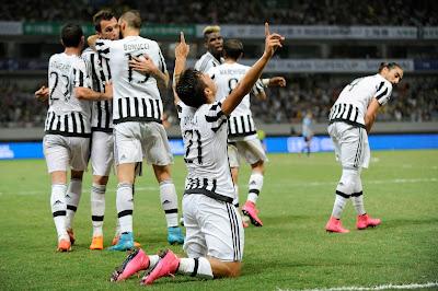 Lazio 0 Juve 2