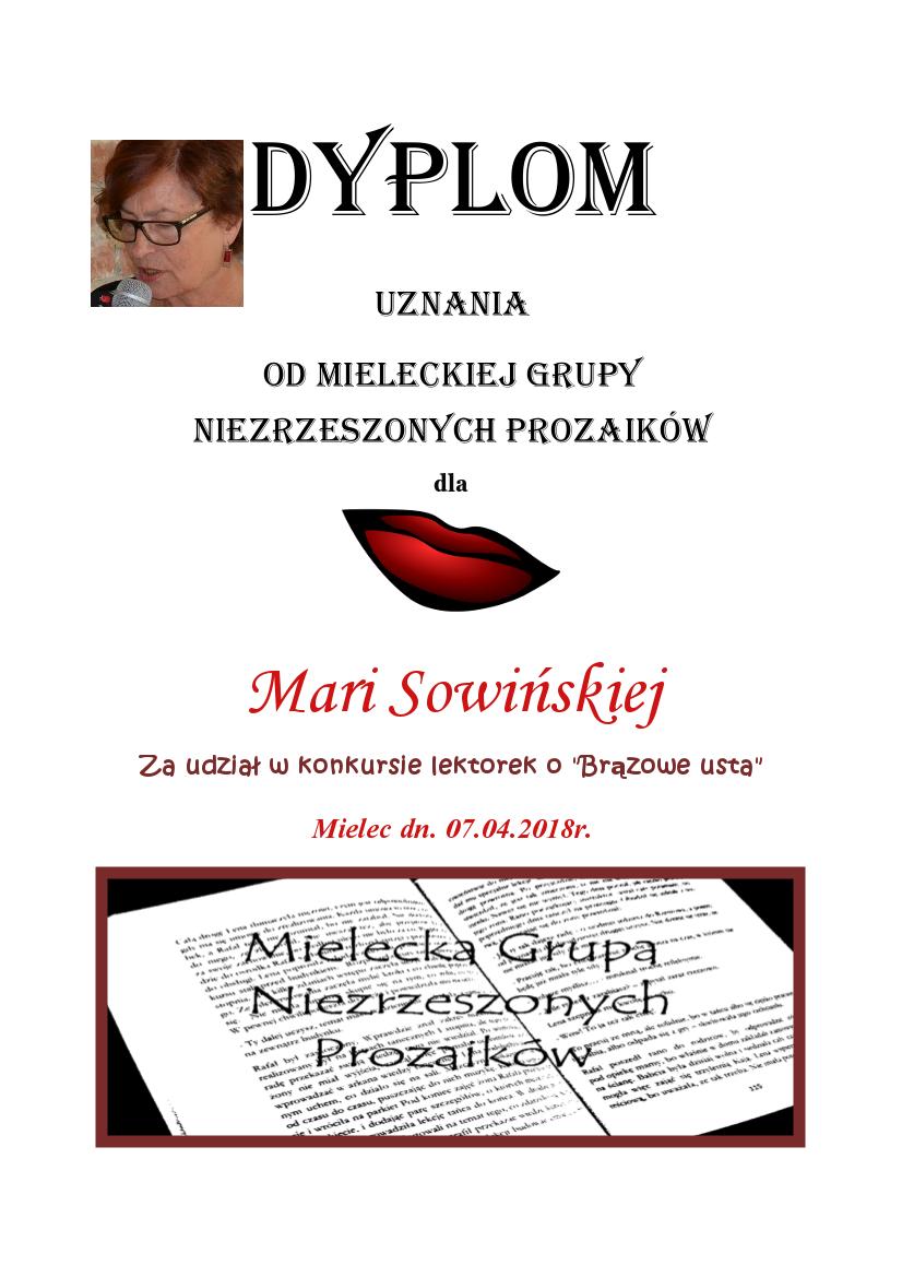 Maria sowińska