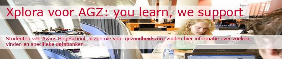 Xplora voor AGZ: you learn, we support