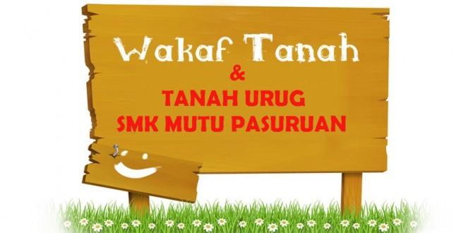 Wakaf Tanah SMK MUTU