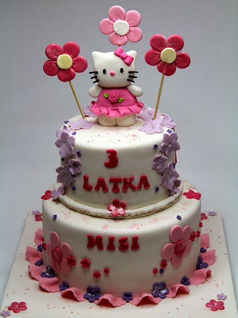 Hello Kitty Childrens Birthday Cake - London Cakes