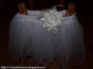 костюм принцессы-снежинки