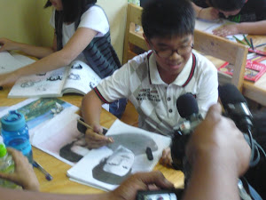 OHAYO Drawing School @ Liputan 6 SCTV