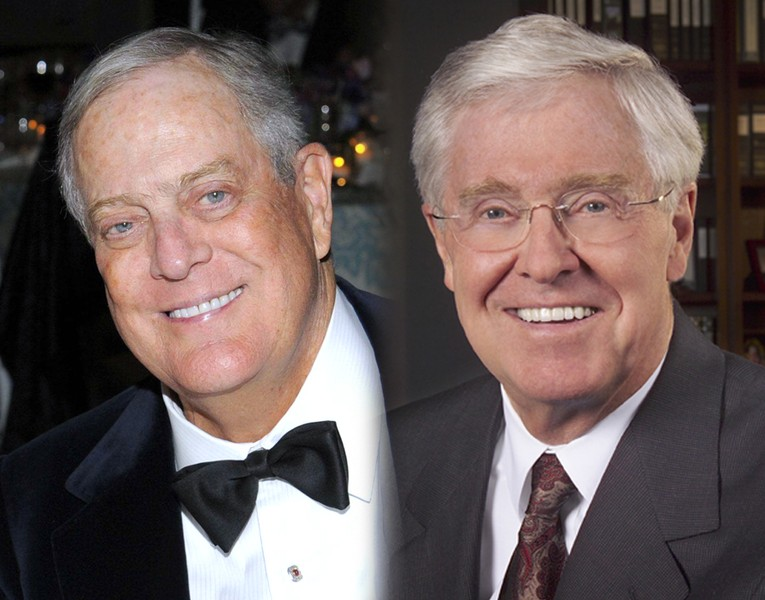 Repealing the frontiers of ignorance koch brothers for David charles koch
