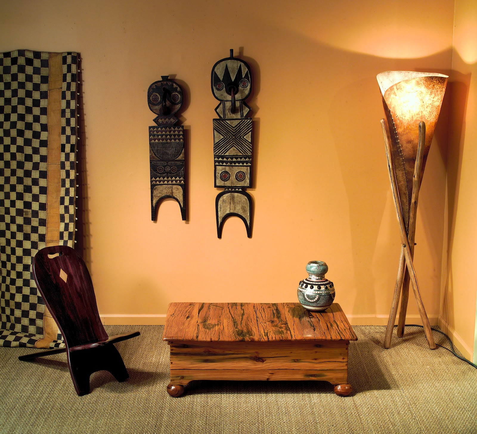 Chiefs Chair And Yellow Jarrah Sliding Coffee Table Phases Africa