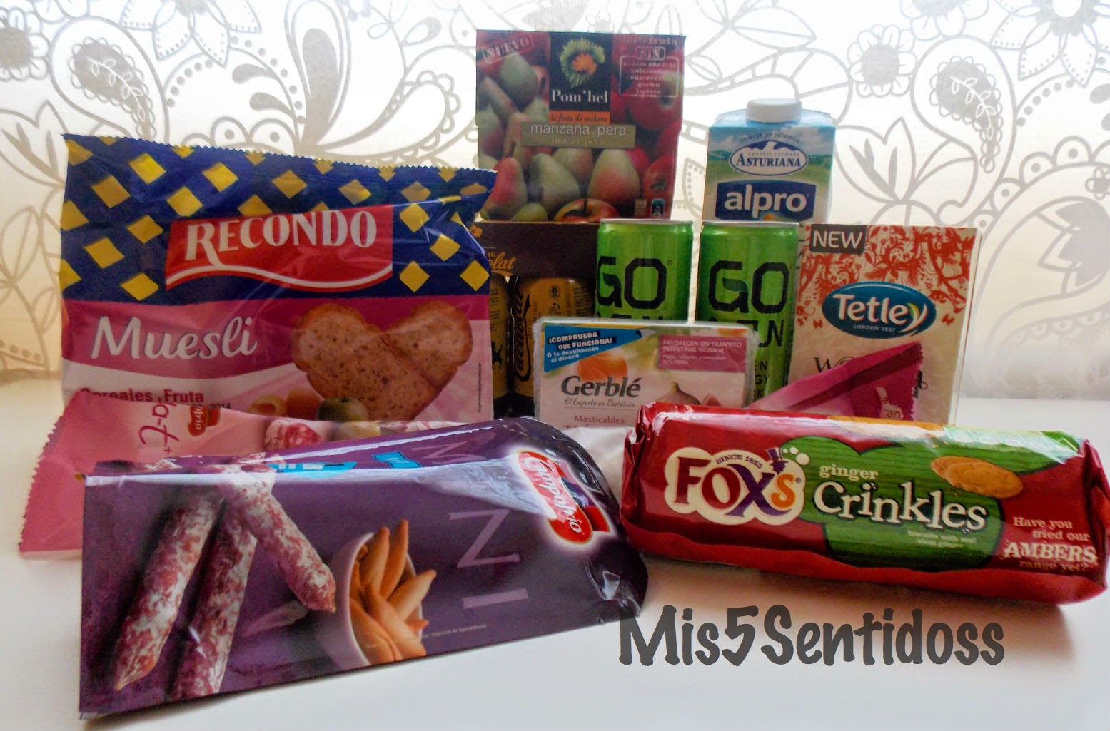 Degustabox Abril 2014