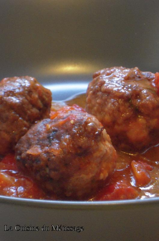 Albondigas boulettes de viande espagnoles cuisine et for Viande cuisinee