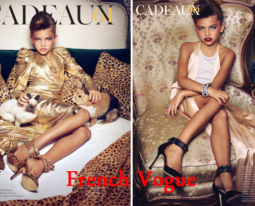 10-Year-Old Vogue Model Controversy