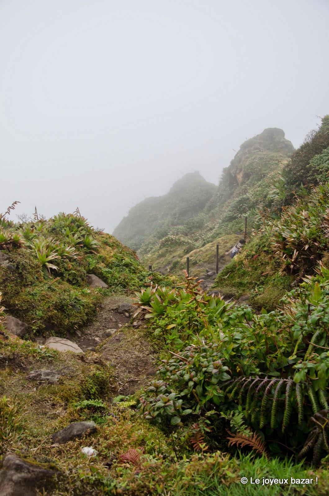 Guadeloupe - randonnée Soufrière