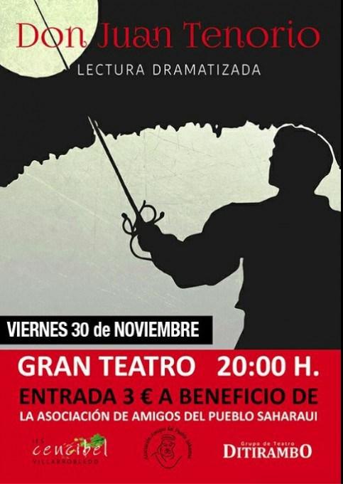 Don Juan Tenorio grupo Ditirrambo