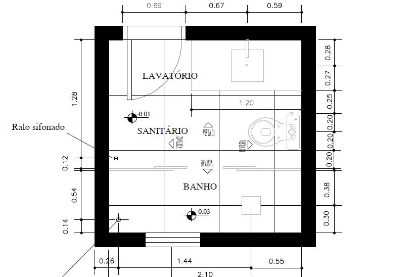 Jéssica Interior Design Reforma Banheiro -> Projeto Banheiro Com Banheira Planta Baixa