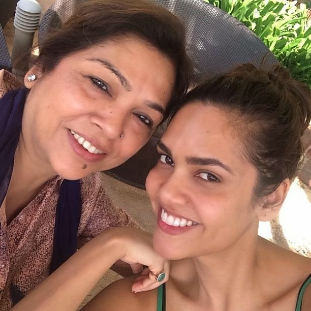 Bipasha Basu and Esha Gupta in Mauritius