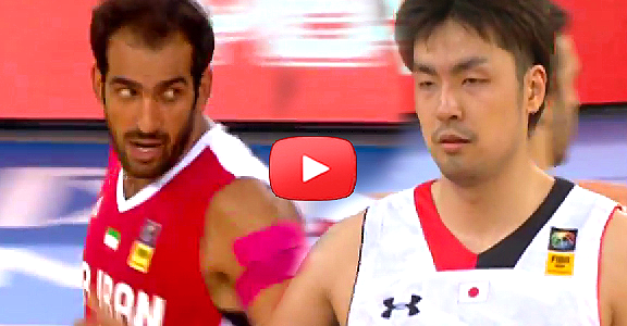 2014 FIBA Asia Cup: IRAN vs. JAPAN - Game Highlights (VIDEO)