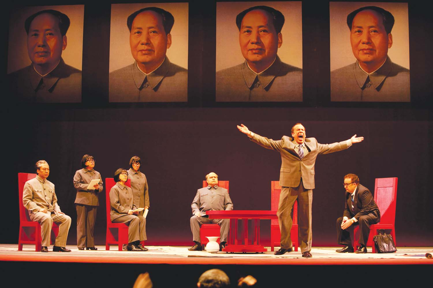 Nixon in China. Ópera de John Adams. nuncalosabre