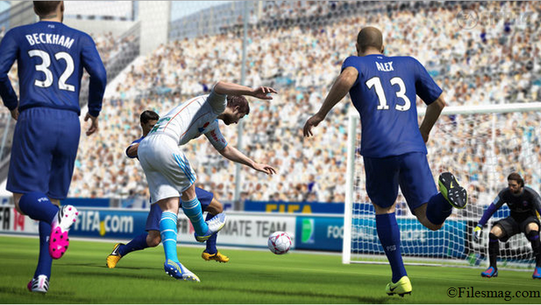 FIFA 14 Game Play Screenshot