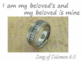 Unique Titanium Wedding Rings Blog Song of Solomon 63 Wedding Ring