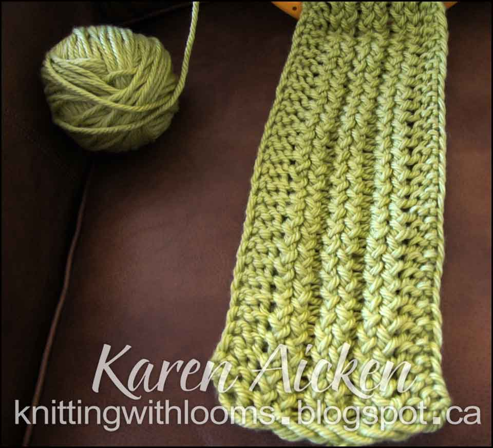 Knitting With Looms: May 2013