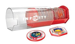 Disney Infinity Davy Archivador Tipo Cápsula Power Discs