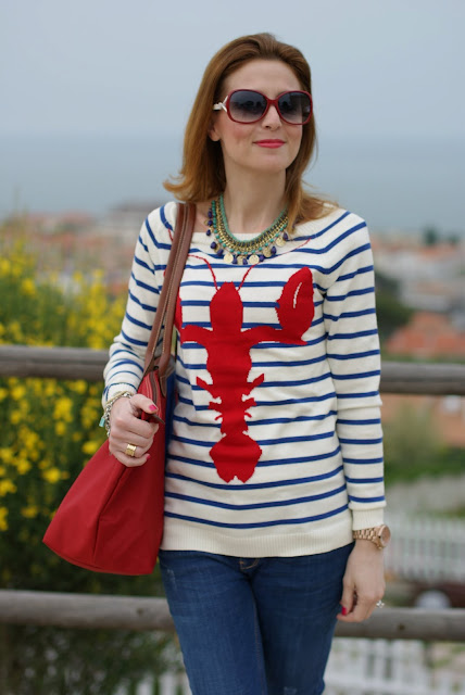 Asos lobster sweater, Firmoo sunglasses, Fashion and Cookies