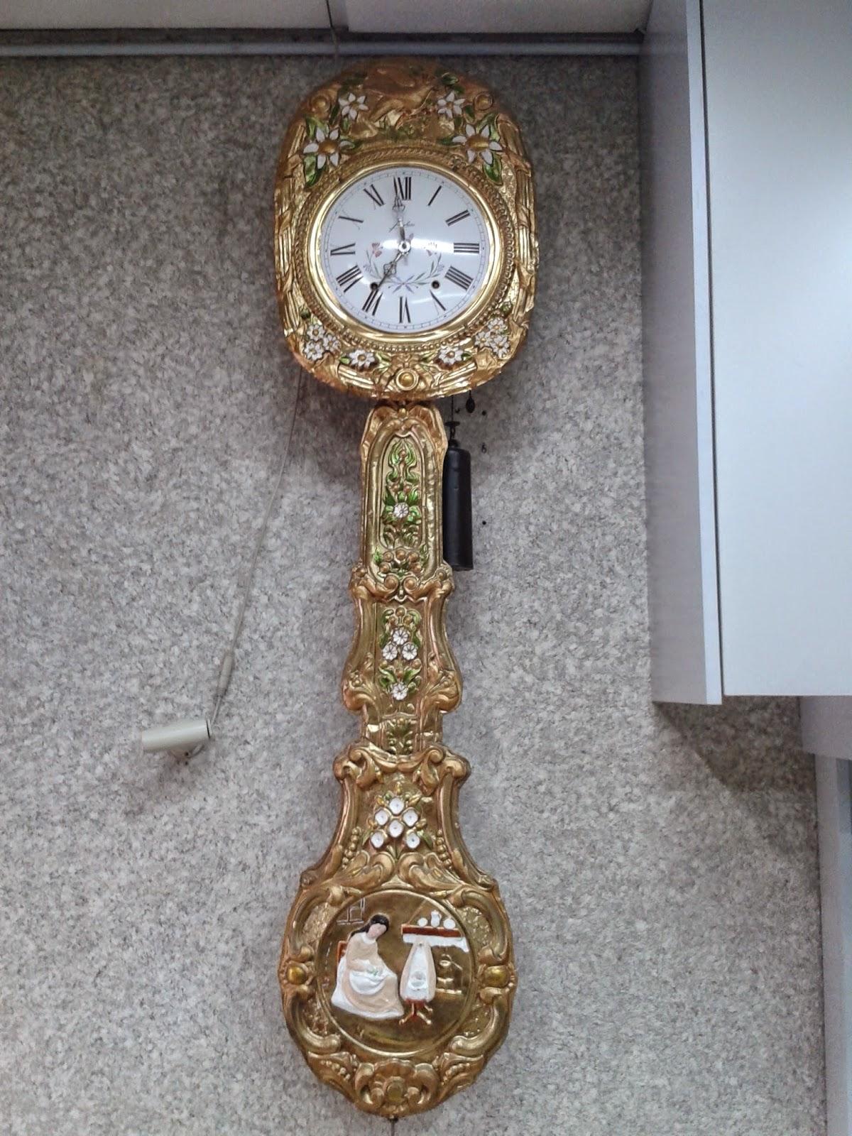 Reparaciones y restauraciones con taller de relojes for Relojes de pared antiguos de pendulo